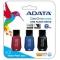 ADATA UV100 USB 2.0 8GB Flash Drive Triple Pack