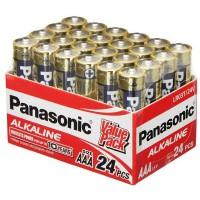 Panasonic AAA Alkaline Battery 24 Pack