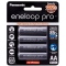 Panasonic Eneloop PRO AA 2500mAh Rechargeable Batteries 4pack