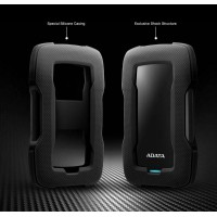 ADATA HD330 Durable External HDD 2TB USB3.1 Black