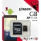 KINGSTON 16GB microSDHC Class 10 UHS-I 80R Flash Card Far East Retail