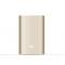 Xiaomi Mi 10000mAh Power Bank Gold, Business card sized, Panasonic/LG battery