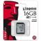KINGSTON 16GB SDHC Class10 UHS-I 80MB/s Read Flash Card Far East Retail