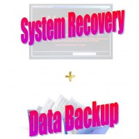 System Recovery Service With Data Backed Up
