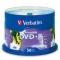 Verbatim DVD+R 4.7GB 16x White Printable 50 Pack on Spindle
